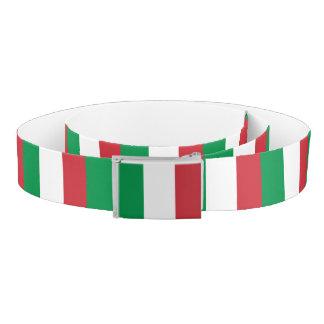 Italy Flag Belt