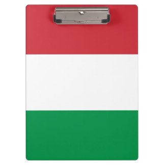 Italy Flag Clipboard