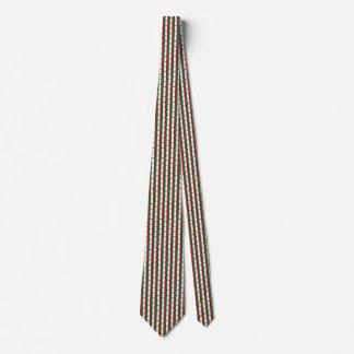 Italy Flag Honeycomb Tie