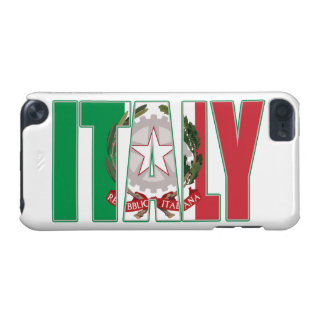 Italy Flag Italian Coat of Arms iPod Touch (5th Generation) Covers