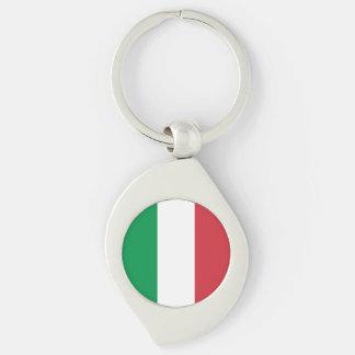 Italy Flag Key Ring