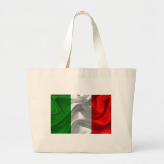 italy-Flag Large Tote Bag
