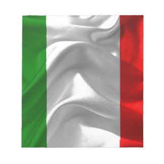 italy-Flag Notepad