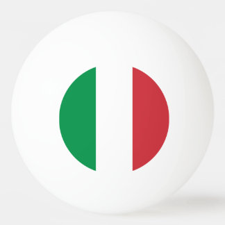 Italy Flag Ping Pong Ball