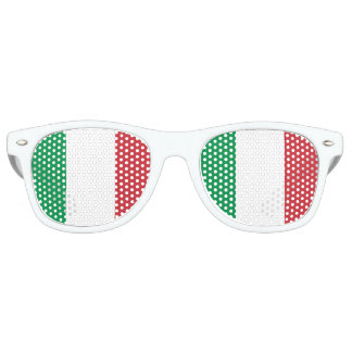 Italy Flag Retro Sunglasses