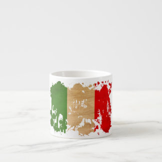 Italy Flag Espresso Cups