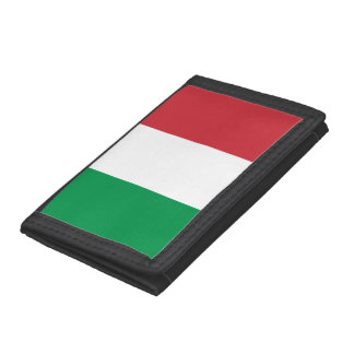 Italy Flag Tri-fold Wallets