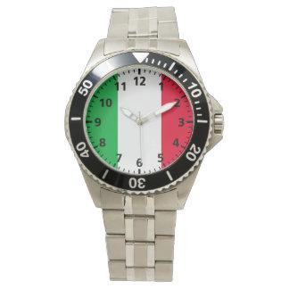 Italy Flag Wristwatch