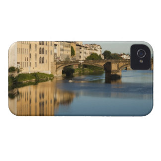 Italy, Florence, Bridge over River Arno iPhone 4 Cases