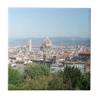 Italy Florence Duomo Michelangelo Square (New) Ceramic Tile