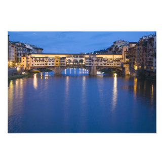 Italy, Florence, Night Reflections in the Photo