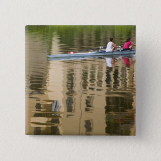 Italy, Florence, Rowing Sculls with 2 15 Cm Square Badge