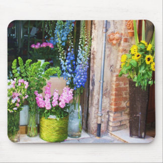 Italy -  Flower Market - SUNFLOWERS Mousepad