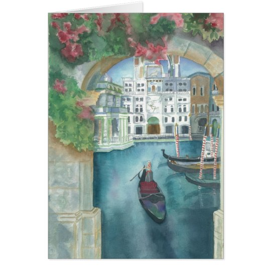 """ITALY"" Greeting Card"