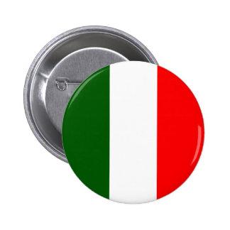 Italy High quality Flag 6 Cm Round Badge