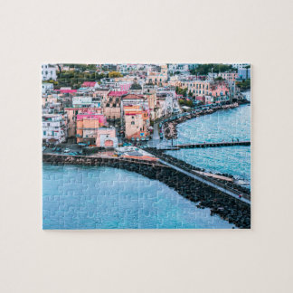Italy Ischia Old Town Souvenir Jigsaw Puzzle