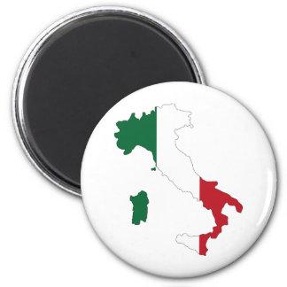 Italy / Italia 6 Cm Round Magnet