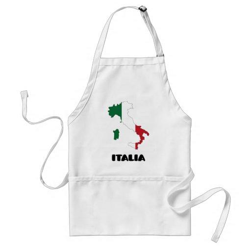 Italy / Italia Aprons