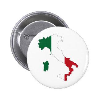 Italy Italia Pinback Buttons