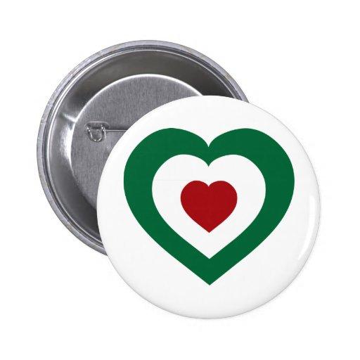 Italy / Italia Pinback Button