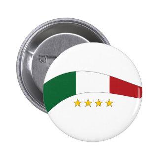 Italy Italia Pinback Button