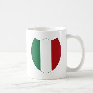 Italy / Italia Basic White Mug
