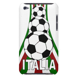 Italy . italia, calico football soccer iPod touch Case-Mate case