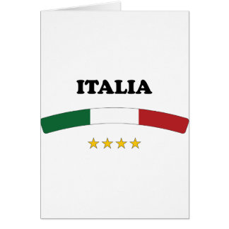 Italy / Italia Greeting Card