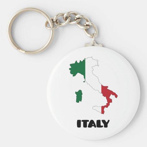 Italy / Italia Keychains