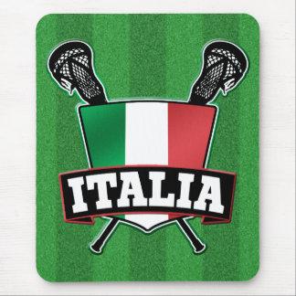 Italy Italia Lacrosse Mouse Pad