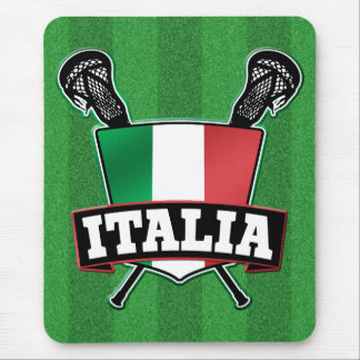 Italy Italia Lacrosse Mouse Pads