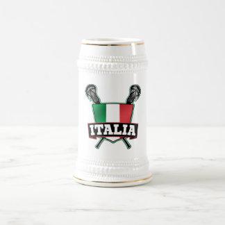 Italy Italia Lacrosse Coffee Mug
