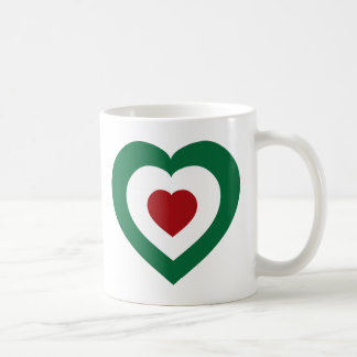 Italy / Italia Classic White Coffee Mug