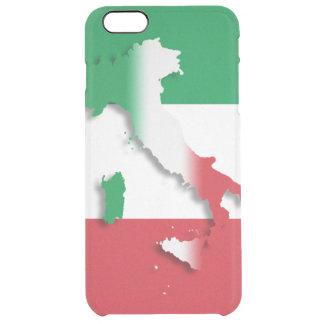 Italy Italian Flag Clear iPhone 6 Plus Case