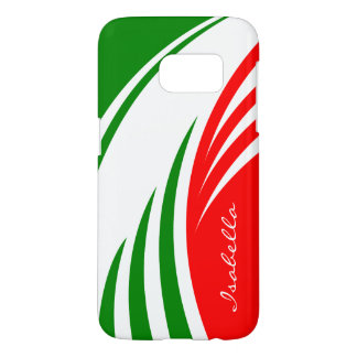 Italy Italian Flag Design with your Name