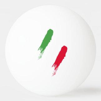 Italy Italian Italia Flag Tricolore Design Ping Pong Ball
