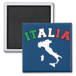 Italy Land Square Magnet