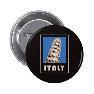 Italy leaning tower of Pisa 6 Cm Round Badge