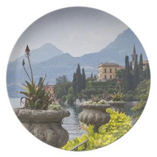 Italy, Lecco Province, Varenna. Villa Monastero, 2 Party Plates