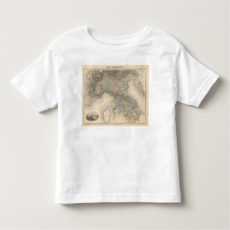 Italy Map 2 Toddler T-Shirt