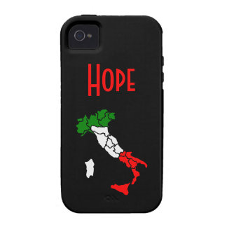Italy Map and Name Samsung Case-Mate iPhone 4 Cases
