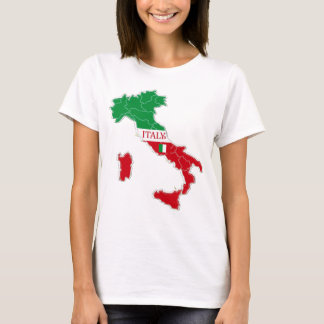 Italy Map Designer Shirt Apparel Sale; Man or Lady