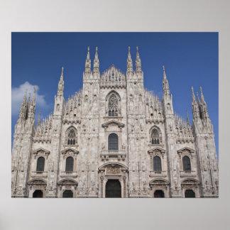 Italy, Milan Province, Milan. Milan Cathedral, 2 Print