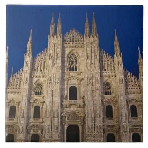 Italy, Milan Province, Milan. Milan Cathedral, Tile