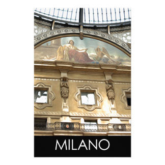 ITALY MILAN STATIONERY PAPER