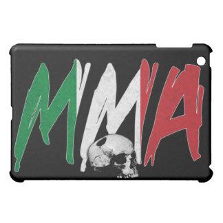 Italy MMA Skull Black iPad Case