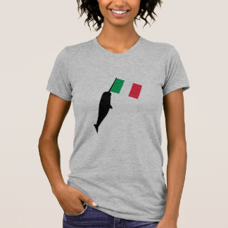 italy Narwhal T-Shirt