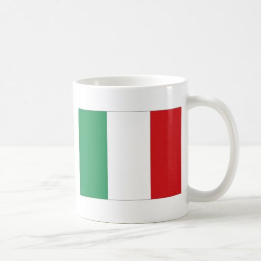 Italy National Flag Coffee Mug