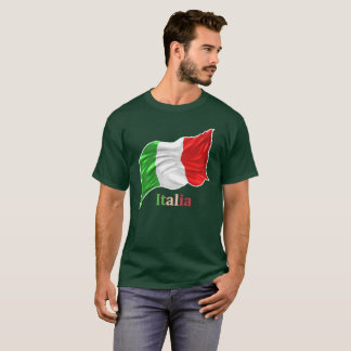 Italy National flag (omazou) T-Shirt