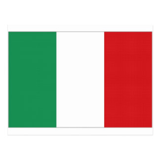 Italy National Flag Postcard